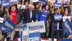 លោក Bernie Sanders ទទួលបានជ័យជម្នះក្នុងការបោះឆ្នោតបឋមនៅរដ្ឋ New Hampshire