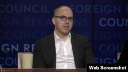 美國國家情報總監辦公室下屬的情報高級研究計劃署(IARPA)前主任杰森馬西尼(Jason Matheny)(網絡截屏)
