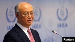 유엔 산하 국제원자력기구 IAEA의 아마노 유키야 사무총장. (자료사진)