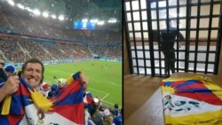 Frenchman Detained for Carrying Tibetan Flag and Wearing Dalai Lama Jersey during World Cup