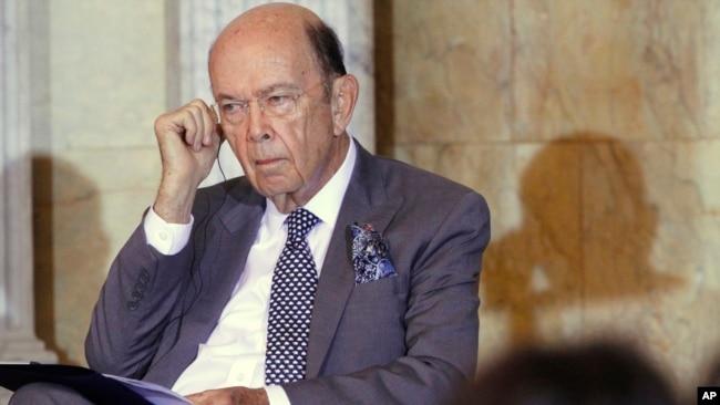 ABD Ticaret Bakanı Wilbur Ross