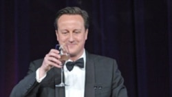 Obama Hosts 'Backyard' Theme Dinner for British PM Cameron