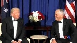 2017-05-05 美國之音視頻新聞: 川普與特恩布爾重申美澳關係鞏固 (粵語)
