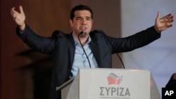 Alexis Tsipras Radikal Sol Parti Syriza lideri