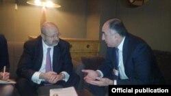Azərbaycan xarici işlər naziri Elmar Məmmədyarovun ATƏT-in Baş katibi Lamberto Zannierlə görüşü