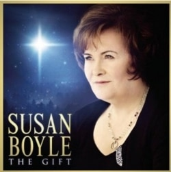 "Susan Boyle's ""The Gift"" CD"