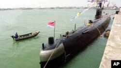 Một tàu ngầm của hải quân Trung Quốc.
