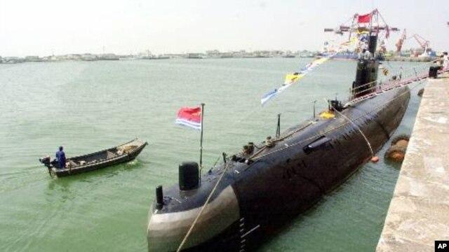 중국 칭다오의 해군 함대. (자료사진)