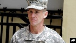 General Stanley McChrystal (file)