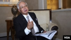 ນາຍົກລັດຖະມົນຕີ ມາເລເຊຍ ທ່ານ Najib Razak.