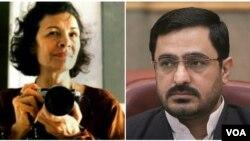 زهرا کاظمی عکاس ایرانی کانادایی و سعید مرتضوی دادستان پیشین تهران