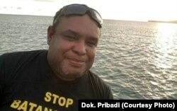 Charles Tawaru, Greenpeace Indonesia, Papua (foto: dok. pribadi)
