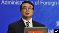 Former Chongqing police chief Wang Lijun (File 2011)
