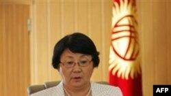 Prezident Roza Otunbayeva