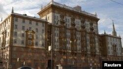 Здание посольства США с Москве