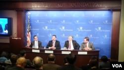 10일 미국 워싱턴 헤리티지 재단에서 열린 한국과 일본 선거 관련 토론회.