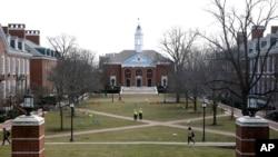 Zanîngeha Johns Hopkins ya li Baltimore,Amerîka