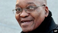 Le président sud-africain Jacob Zuma (Archives)
