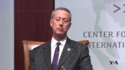 众议院军委会主席索恩伯里2016年12月1日称敌人会试探美国原声视频
