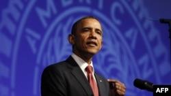 Predsednik Barak Obama obraća se američkim veteranima