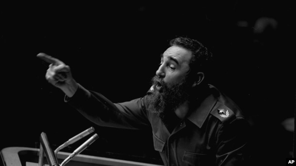Фидель Кастро выступает на Генеральной ассамблее ООН, 12 октября 1979