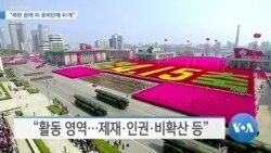"[VOA 뉴스] ""북한 문제 미 로비단체 41개"""