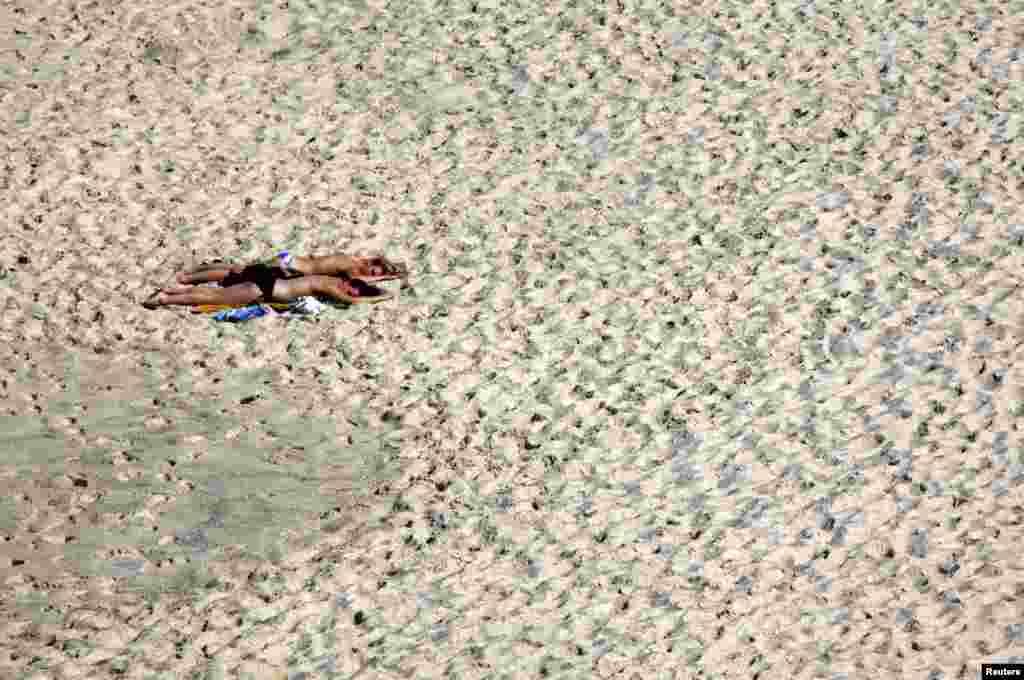 Prizor sa plaže Bronte, nedaleko od Sydneya, Australija.
