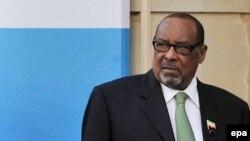 Le président du Somaliland Ahmed Silanyo arrive à Lancaster House pour la Conférence sur la Somalie à Londres, la Grande-Bretagne, le 23 février 2012. epa / ANDY RAIN