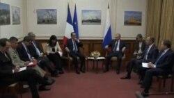گفتگوی فرانسوا اولاند و ولادیمیر پوتین در مورد بحران اوکراین
