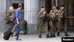 Bỉ vẫn trong tình trạng cảnh giác cao sau khi xảy ra các vụ tấn công khủng bố hồi đầu năm nay.
