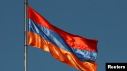 The Armenian national flag