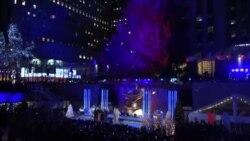 """""""仁人家园""""与洛克菲勒中心的圣诞树"""