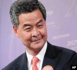 香港行政長官候選人梁振英