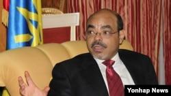 20일 벨기에 병원에서 사망한 에티오피아의 멜레스 제나위 총리