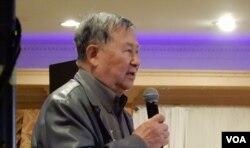 Cựu Đại tá Vũ Văn Lộc, giám đốc IRCC (Ảnh: Bùi Văn Phú)