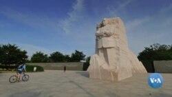 Amerikaga sayohat: Martin Lyuter King yodgorligi