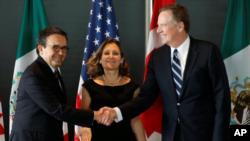 Las conversaciones estuvieron marcadas por la tensión entre Washington y Ottawa por la decisión de Estados Unidos de imponer subsidios preliminares al fabricante de aviones canadiense Bombardier.
