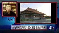 VOA连线:台湾最新民调 过半民众要永远维持现状
