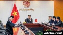 Bộ trưởng Bộ Công thương Việt Nam Trần Tuấn Anh . Photo Đangcongsan.org (ảnh minh họa)