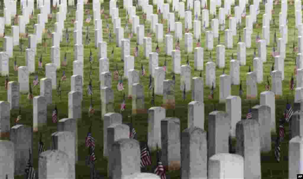 مراسم یابود از عساکر امریکایی در ایالات متحده
