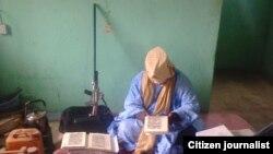 Hoton mataimakin kungiyar Boko Haram Muhammad Marwana.