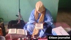 Mutumin dake ikirarin cewa shi ne Muhammadu Marwana, wanda a yanzu yake ikirarin cewa shi ne shugaban kungiyar nan da aka fi sani da sunan Boko Haram