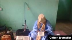 Foto yang disebut menggambarkan wakil pemimpin Boko Haram, Muhammad Marwana (foto: dok).