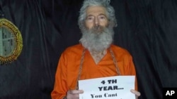 آقای لوینسون در ویدئویی که چهار سال پس از ناپدید شدنش به دست آمد