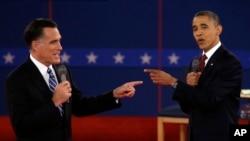 مناظره انتخاباتی میان باراک اوباما و میت رامنی، سال ۲۰۱۲