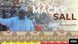 L'affiche de campagne Macky Sall.