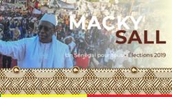 Macky Sall réélu dès le premier tour