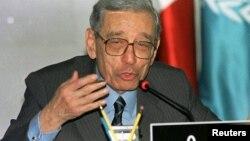 Boutros Boutros-Ghali murió a la edad de 93 años.