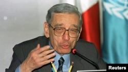 Boutros Boutros-Ghali, ancien secrétaire général de l'Onu. (Archives)