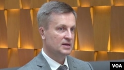 Valentyn Nalyvaichenko, former Ukrainian Security Service chief, in Washington, July 21, 2015.